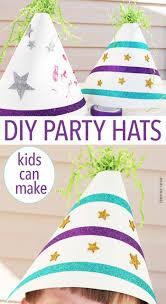 fun u0026 easy diy party hats kids can make