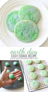 recipe earth day cookies u0026 tips for kids see vanessa craft