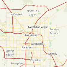 map us las vegas las vegas area map u s news travel