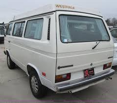 volkswagen vanagon lifted 1987 volkswagen vanagon campmobile van item d7131 sold