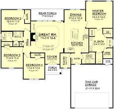 house plans with large kitchens and pantry thomas creek house plan island kitchen square feet and pantry