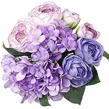 Bouquet For Wedding Amazon Com Luyue Vintage Artificial Peony Silk Flowers Bouquet