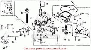 honda trx125 fourtrax 125 1986 g usa carburetor schematic