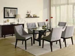 formal glass dining room sets home design