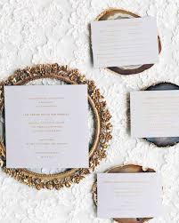 wedding invite sles 34 winter wedding invitations martha stewart weddings