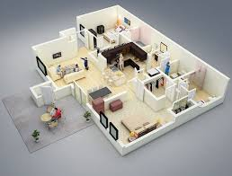 layout ruangan rumah minimalis 15 denah rumah minimalis 2 kamar tidur 3d 2018 terbaru dekor rumah