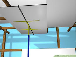How To Sheetrock A Ceiling by How To Hang Sheetrock With Pictures Wikihow
