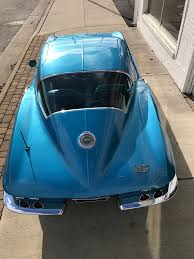 vintage corvette blue 1966 chevrolet corvette my classic garage