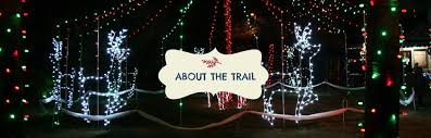 santa land here lighted sign sightseeing holiday trail of lights