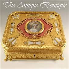 Gilt Bonze Enameled Portrait 28 Best Antique Miniature Portrait Boxes Images On
