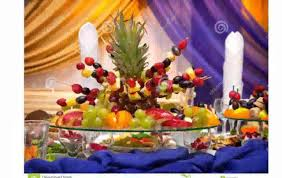 Vegetable And Fruit Decoration Fruit Table Decoration Youtube