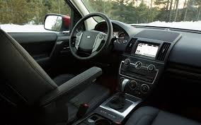 land rover freelander interior 2013 land rover lr2 first drive truck trend