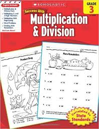 division for grade 3 scholastic success with multiplication division