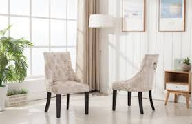 Ring Back Dining Chair New Imperial Knockerback Cream Crushed Velvet Dining Chair With