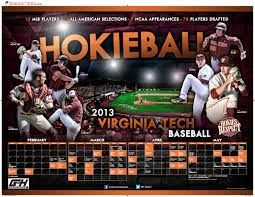 Virginia Tech Interactive Map by 2013 Virginia Tech Baseball Poster 2013 College Baseball Posters