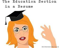 Resume Education Section How To List Education And Qualifications In A Resume