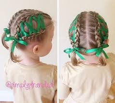 hair ribbons 20 amazing braided pigtail styles for