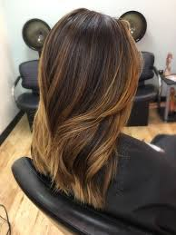 light brown hair with caramel highlights on african americans warm honey caramel balayage for dark hair types ethnic hair