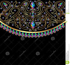 background with glass and geometric designs in gol royalty free