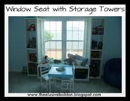 Window Seat With Storage The Elusive Bobbin Project 5 Window Seat With Storage Towers