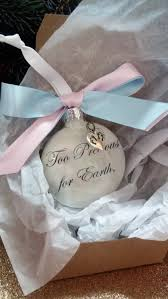 infant loss ornament pregnancy loss memorial ornament precious for earth