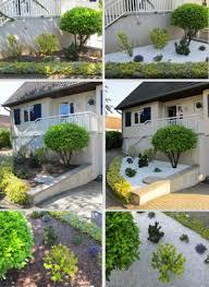 gartengestaltung mit steinen und grsern ideen zur vorgartengestaltung mit kies und split