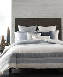 Duvet Protector King Size Hotel Collection Linen Stripe King Duvet Cover Created For Macy U0027s