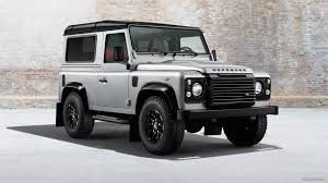 black land rover with black rims 2014 land rover defender black pack with alloy wheels front hd