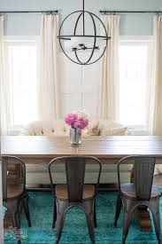 Teal Dining Room by The Magic Of Accessories Our Summer Dining Room Decor The Diy Mommy