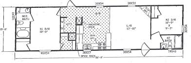 Mobile Home Floor Plans Single Wide Option Of Single Wide Mobile Home Floor Plans House Plan