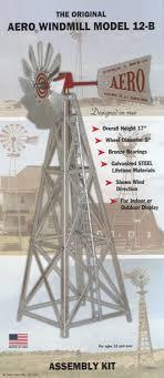 aero 12 b 17 inch windmill kit wind sculptures