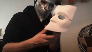 black bauta mask ghost nameless ghoul white bauta mask unboxing