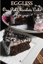 eggless one pot chocolate cake recipe yummy tummy