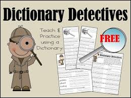 free dictionary worksheets worksheets