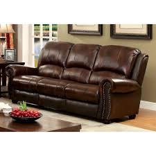 sofa match furniture of america tad u0027s top grain leather match sofa