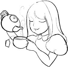 tea cup with spoon tea bag vector drinks clip art library