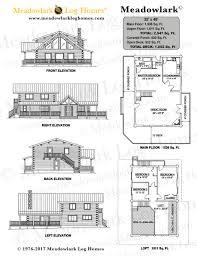 Wilderness Lodge Floor Plan Meadowlark Log Lodge Meadowlark Log Homes