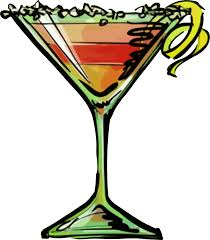 pink martini clip art alcohol clipart