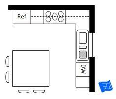 kitchen island layout 10 x 8 kitchen layout search similar layout with island