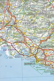 Detailed Map Of France by Map Of Southern France Recana Masana