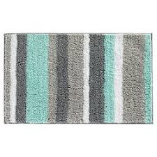 Aqua Bathroom Rugs Geo Bath Rug 20 X34 Aqua Threshold Target