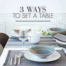 setting a table woolworths co za food home clothing u0026 general merchandise