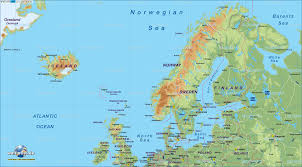 northern map map of northern europe map in the atlas of the atlas