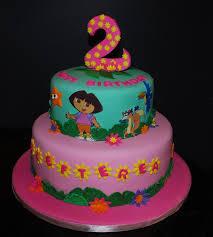 dora the explorer birthday cake cakepins com recipes pinterest