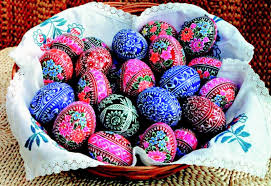blown easter eggs easter egg designs boho chic eggs