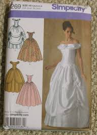 wedding dress patterns free gown sewing patterns gown and dress gallery
