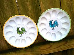 deviled egg platter vintage 314 best vintage egg platter images on deviled eggs