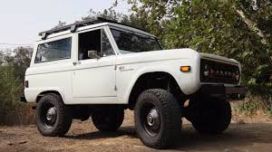 jeep bronco white icon br 34 1977 bronco with a 5 0 l coyote v8 engine swaps