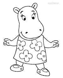printable backyardigans coloring pages kids cool2bkids