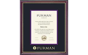 clemson diploma frame furman